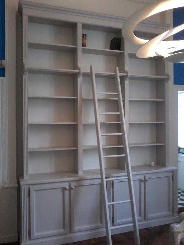 Top La Fabrique 44 - menuiserie bois - réalisations - bibliothèque  VR69